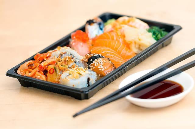 foodtruck vis sushi