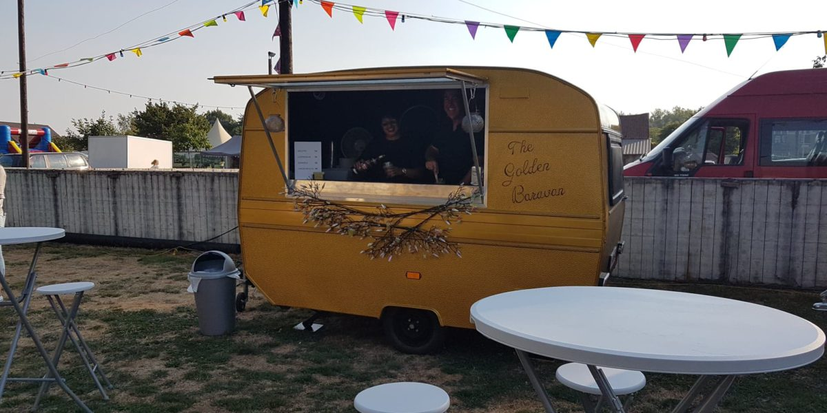 The Golden Baravan mobiele bar