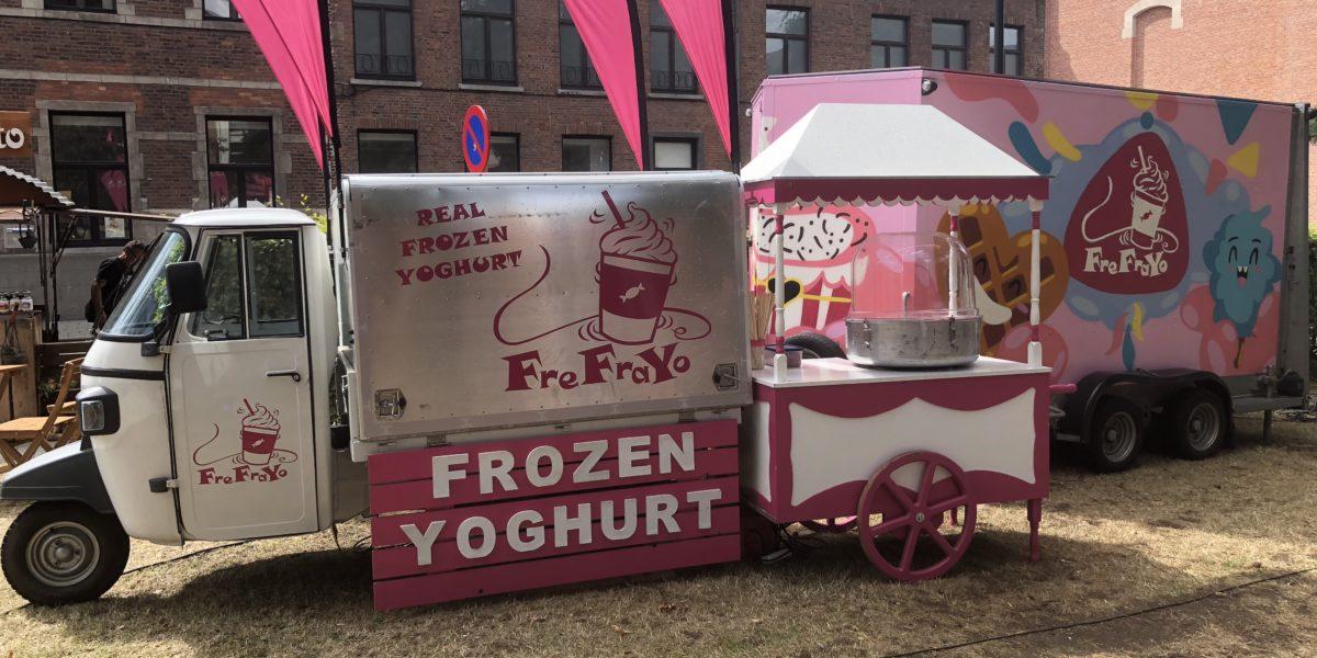 frefrayo frozen yoghurt foodtruck