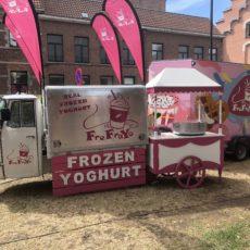 FreFraYo, de Frozen Yoghurt Vespa