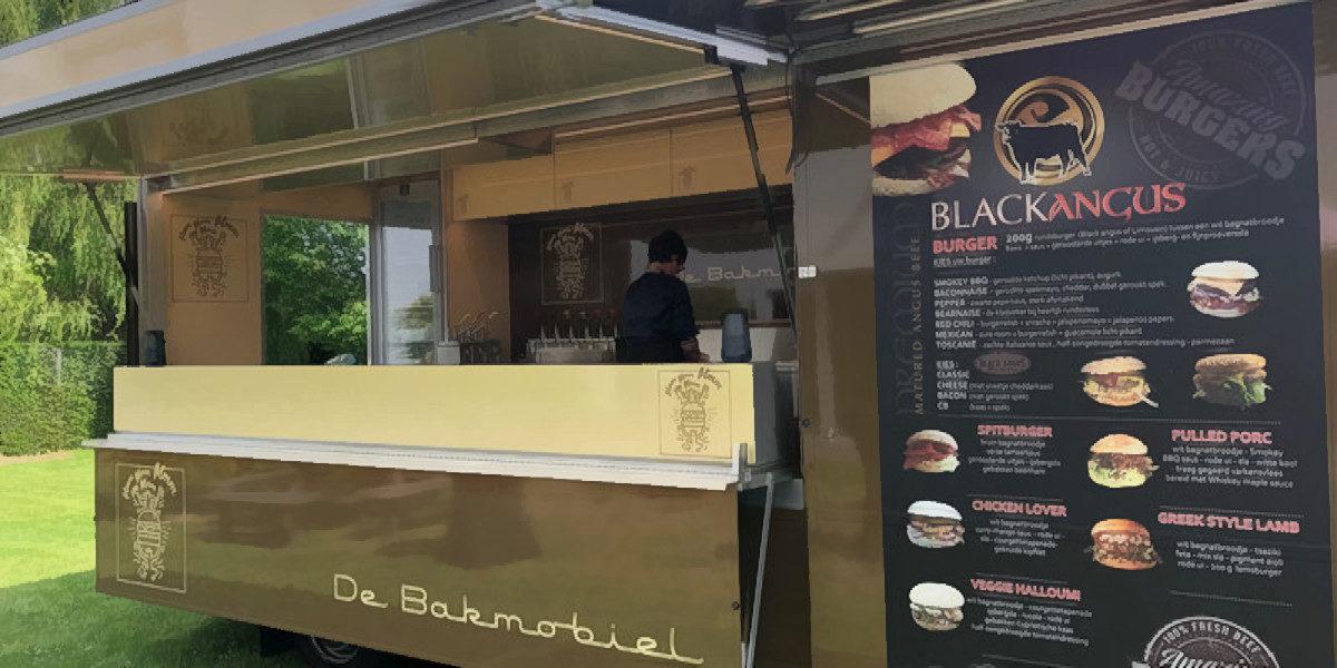 Bakmobiel Hamburger Foodtruck