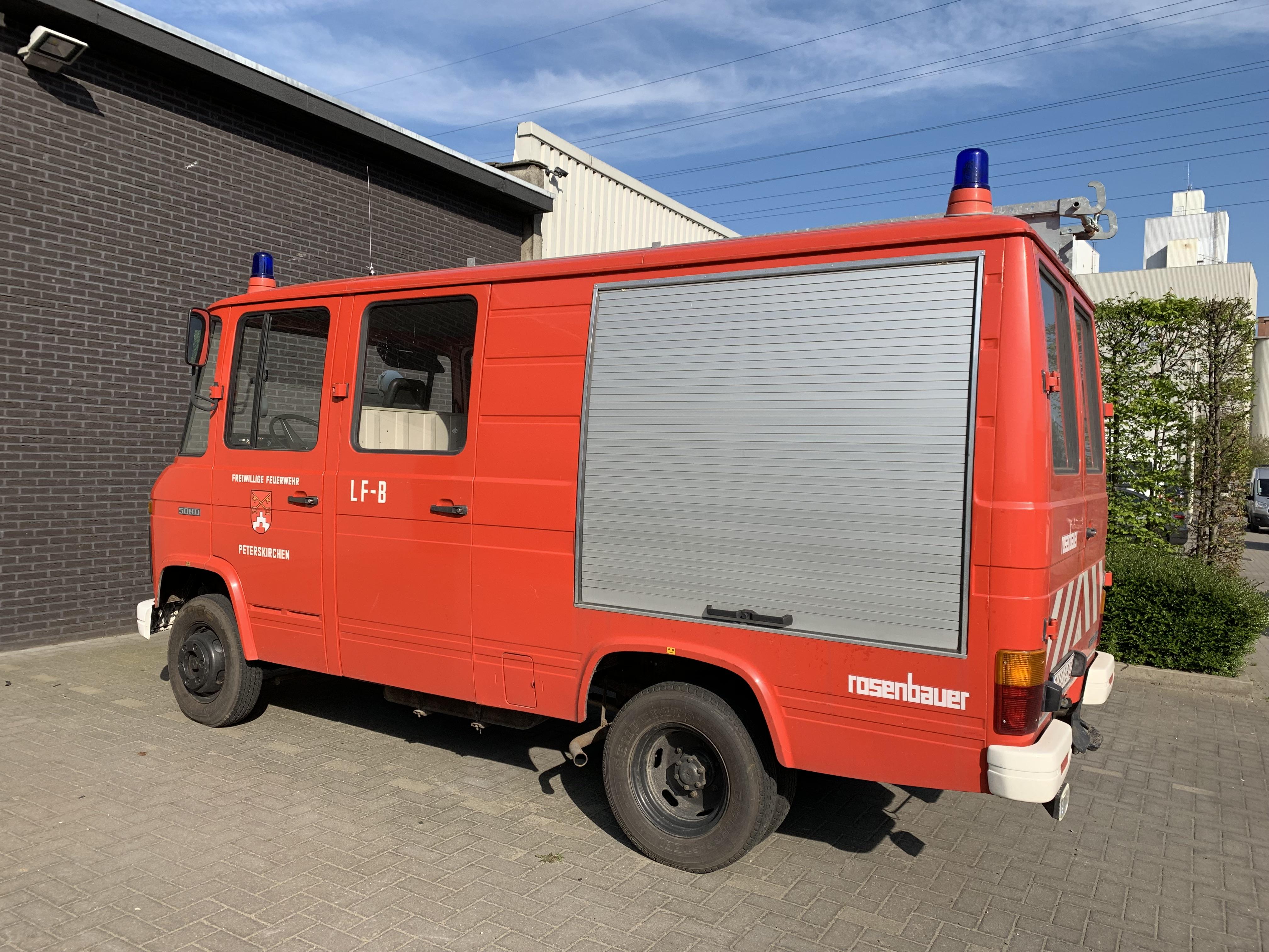 Mercedes 508D brandweerwagen PROJECT